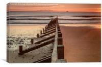 Sunrise Aberdeen Beach, Canvas Print