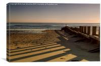 Sunrise at Aberdeen Beach, Canvas Print