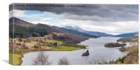 Queens View, Loch Tummel, Canvas Print