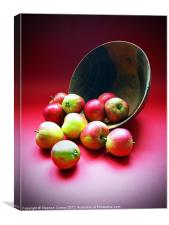 Still Life with Apples, Canvas Print