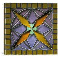 Tile Design 2, Canvas Print