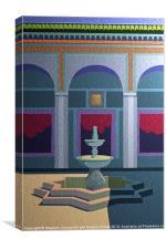 Tunisia Mosque, Canvas Print