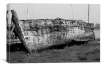 Boat in need of TLC, Canvas Print