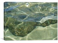 Water Prisim, Canvas Print