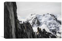 Mount Blanc, Canvas Print