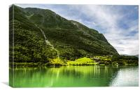 Norway Lake, Canvas Print