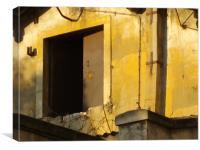 Golden door, Canvas Print