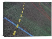 Sport lines, Canvas Print