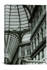 Galeria Umberto II, Canvas Print