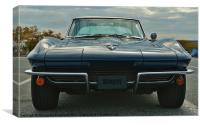 Stingray an American Classic, Canvas Print