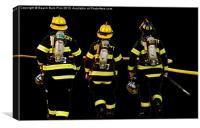 Ocean City Firemen, Canvas Print