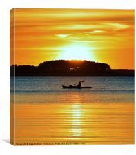 A Reason to Kayak, Canvas Print