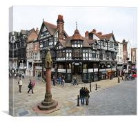Chester Cross, Canvas Print