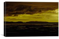 Storm Over Hilbre, Canvas Print