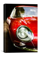 E-Type, Canvas Print