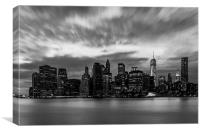 Manhattan Cityscape, Canvas Print