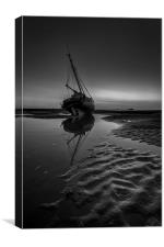 Ripples and reflections, Canvas Print