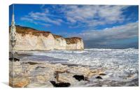 Selwicks Bay, Flamborough, Canvas Print