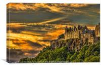 Stirling Castle Scotland, Canvas Print