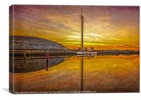 PS The Waverley at Sunset, Canvas Print