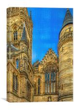 Towers and Turrets, Canvas Print