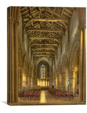 Holy Rude Church Stirling, Canvas Print
