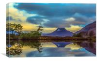 Stac Polly in the Highlands, Canvas Print