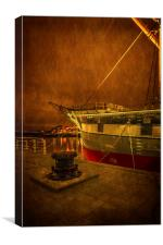The Glenlee at  Riverside Museum, Canvas Print