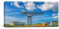 Finnieston Crane by Hydro Glasgow, Canvas Print