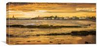 South Beach Ardrossan, Canvas Print