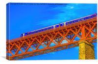 The Forth Rail Bridge North Queensferry, Canvas Print