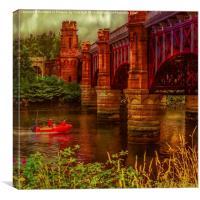 City Union Railway Bridge (2), Canvas Print