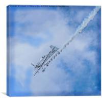 Aerobatics at the Scottish Airshow, Canvas Print