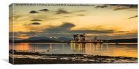 Fairlie Bay  at Sundown, Canvas Print