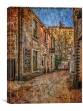The Bothy Glasgow, Canvas Print