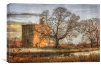 Barr's Castle Lochwinnoch, Canvas Print