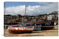 St Ives Harbour, Canvas Print