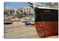 St Ives Harbour, Cornwall, Canvas Print
