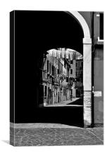 Venice Arch, Canvas Print