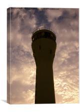 Basra Air Control Tower, Canvas Print