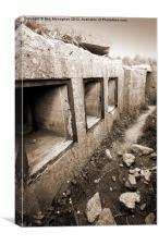 WW2 Bunker, Canvas Print