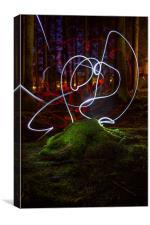Woodland Fairies, Canvas Print