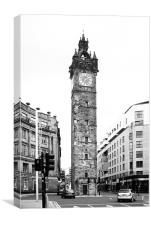 Tolbooth, Glasgow, Canvas Print