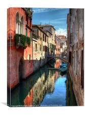 Canals of Venice, Canvas Print