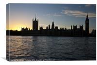 London Skyline, Canvas Print