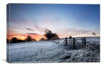 Ivinghoe Beacon Sunrise, Canvas Print