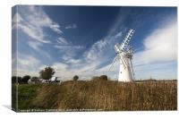 Norfolk Broads, Canvas Print