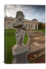 The Orangery, Wrest Park, Canvas Print