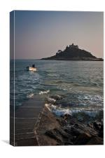 St Michaels Mount, Cornwall, Canvas Print