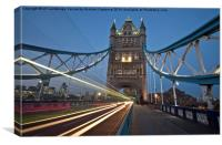 Tower Bridge Lights, Canvas Print